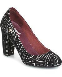 Desigual - Altea Bling Bling Women's Court Shoes In Black - Lyst
