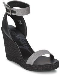 Replay - Reana Women's Sandals In Grey - Lyst