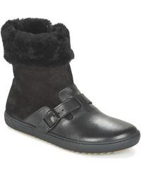 Birkenstock - Stirling Women's Mid Boots In Black - Lyst