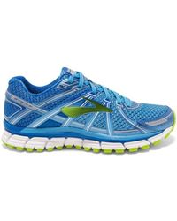 Brooks - Adrenaline Gts 17 W Women's Shoes (trainers) In Blue - Lyst