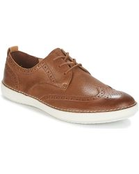 Clarks - Komuter Run Men's Casual Shoes In Brown - Lyst