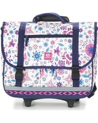 Rip Curl - Mandala Wheely Satchel Girls's Children's Rucksack In Purple - Lyst