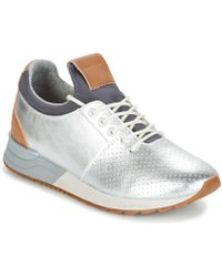 Marc O'polo - Girona 6 Women's Shoes (trainers) In Silver - Lyst