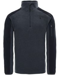 The North Face - Glacier Delta 14 Zip Men's Jumper In Multicolour - Lyst
