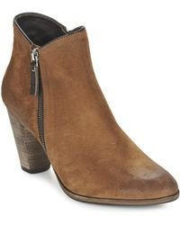 NDC - Snyder Women's Low Ankle Boots In Brown - Lyst