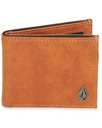 Volcom - Slime Stone Men's Purse Wallet In Multicolour - Lyst