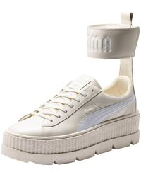 8a6c0facbb55f0 PUMA - X Fenty Rihanna Ankle Strap Trainer Women s Shoes (trainers) In  Beige -