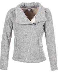 Bench - Bonded Biker Jkt Women's Jacket In Grey - Lyst