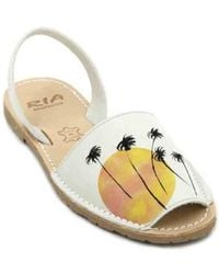 Ria Menorca - Twins 27126-s2 Women ́s Avarcas Sandals Women's Sandals In Beige - Lyst