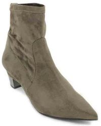 Pedro Miralles - 24676 Women's Elastic Ankle Boots Women's Low Ankle Boots In Beige - Lyst