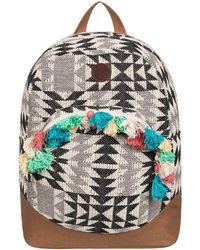 Roxy - Feeling Latino - Mochila Mediana Women's Backpack In Multicolour - Lyst