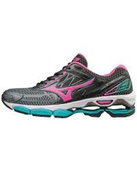 Mizuno - Wave Creation 19 Women's Shoes (trainers) In Black - Lyst