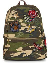 affa1c5bec Desigual - Bols Always Milan Women s Backpack In Green - Lyst
