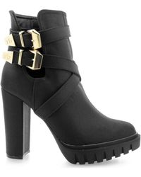 Roccobarocco - Hung Women's Low Ankle Boots In Multicolour - Lyst