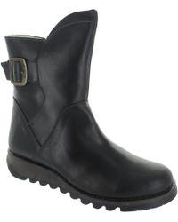 Fly London - Sien Warm Women's Low Ankle Boots In Black - Lyst