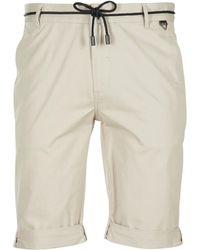 ELEVEN PARIS - Chuck Men's Shorts In Beige - Lyst