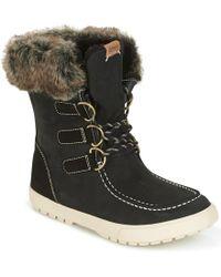 Roxy - Rainier J Boot Blk Women's Snow Boots In Black - Lyst