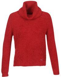 Billabong - Shaggy Escape Women's Jumper In Red - Lyst