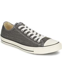 Converse | Ct Good Wash Ox Men's Shoes (trainers) In Grey | Lyst