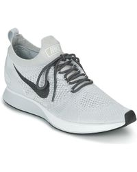 dfe0c437ce796 Nike - Air Zoom Mariah Flyknit Racer Men s Shoes (trainers) In White - Lyst