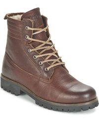 Blackstone - Mazine Women's Mid Boots In Brown - Lyst