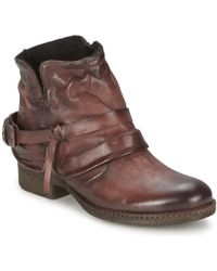 Dream in Green - Assim Women's Mid Boots In Brown - Lyst