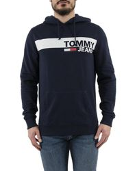 Tommy Hilfiger Dm0dm06047 hommes Sweat-shirt en bleu