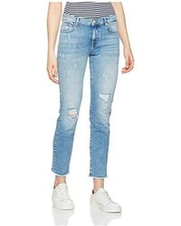 ONLY - Vaquero Onldylan Low Sk Push Up Women's Skinny Jeans In Blue - Lyst