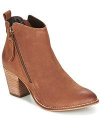 Dune - Pontoon Women's Low Ankle Boots In Brown - Lyst