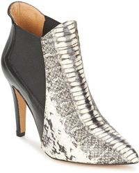 Fericelli - Elis Women's Low Ankle Boots In Grey - Lyst