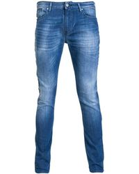 Armani Jeans - J06 Denim Jeans Slim Fit 3y6j06 6d14z Men's Skinny Jeans In Blue - Lyst