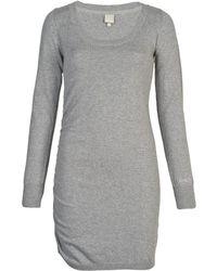 Bench - Hooked B Women's Dress In Grey - Lyst
