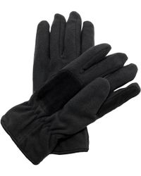 Regatta - Unisex Thinsulate Thermal Fleece Winter Gloves Women's Gloves In Black - Lyst
