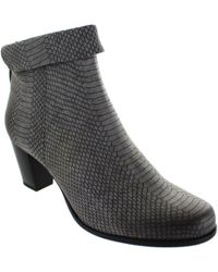 Gerry Weber - Louanne 06 Women's Low Ankle Boots In Grey - Lyst
