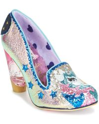 Irregular Choice - Lady Misty Women's Court Shoes In Gold - Lyst