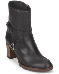 U.S. POLO ASSN. | Florinda Women's Low Ankle Boots In Black | Lyst