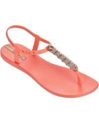 5aeee521a Ipanema - Links Sandals In Coral 81932a Women s Flip Flops   Sandals  (shoes) In