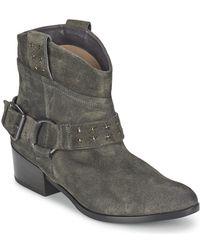 Janet & Janet - Fadila Women's Low Ankle Boots In Grey - Lyst