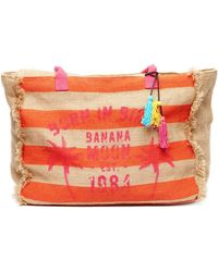 Banana Moon - , Orange, Jute Beachbag - Mahina Women's Bag In Beige - Lyst