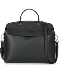 Furla - My Piper M Tophandle Women's Handbags In Black - Lyst