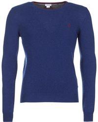 U.S. POLO ASSN. - Jesse Men's Sweater In Blue - Lyst