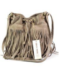Toscanio - 988 Beż Men's Shoulder Bag In Beige - Lyst