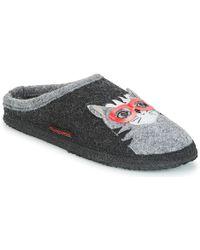 Giesswein - Nittel Women's Slippers In Grey - Lyst