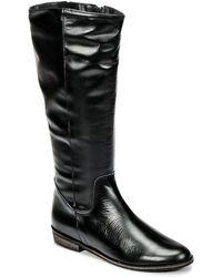 So Size - Holu Women's High Boots In Black - Lyst