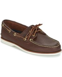 Timberland - Classic boat shoes - Lyst