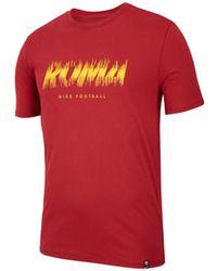 c4f49e92d Nike - 2018-2019 Roma Dry Pre Season Tee (crimson) Men s T Shirt