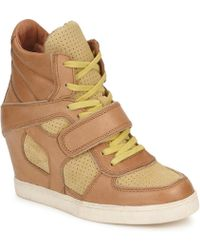 Ash - Coca Women's Shoes (high-top Trainers) In Brown - Lyst