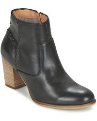 Marc O'polo - Jaddi Baka Women's Low Ankle Boots In Black - Lyst
