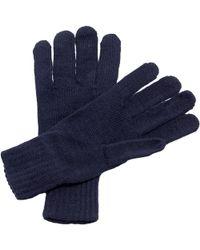 Regatta - Unisex Knitted Winter Gloves Men's Gloves In Blue - Lyst