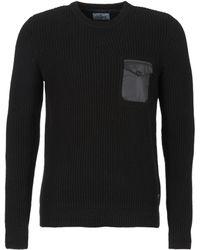 Chevignon - Army Men's Sweater In Black - Lyst